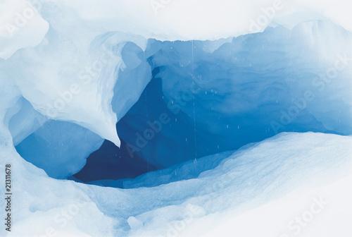 Obraz na plátne cave in ice