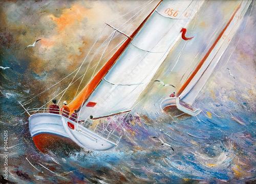 Sea regatta