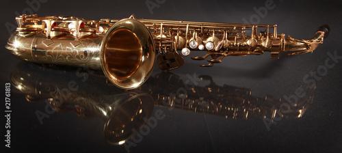 Obraz na plátně shiny jazz