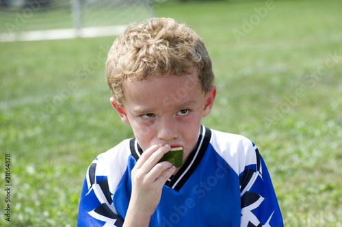Fotografie, Obraz Halftime Snack