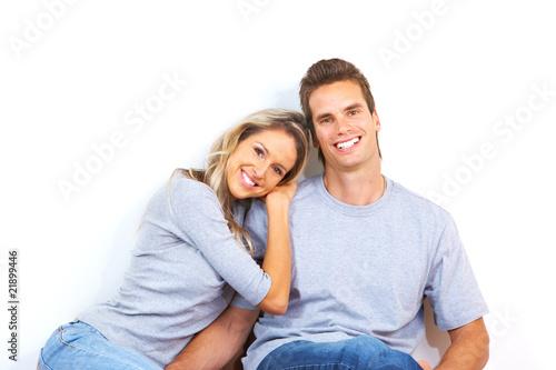 Canvastavla Love couple