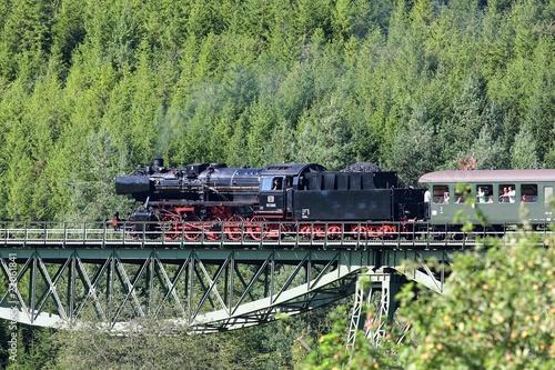 Fototapeta premium Sauschwanzlebahn