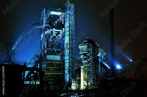 Stampa su Tela Steel blast furnace in Ostrava Vitkovice