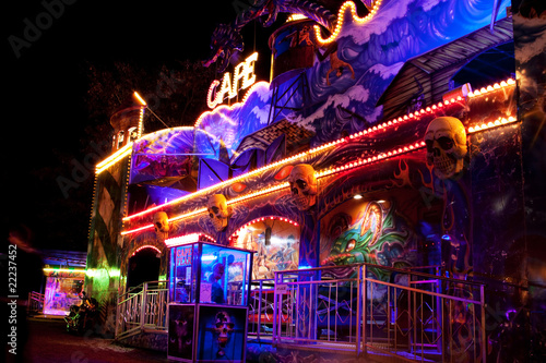 Haunted house of fear