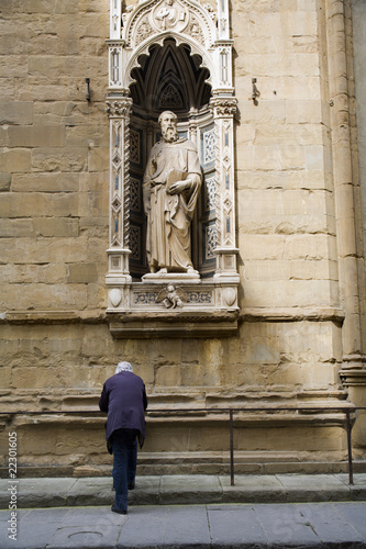 Photo Florence - st. Mark the Evangelist by Donatello