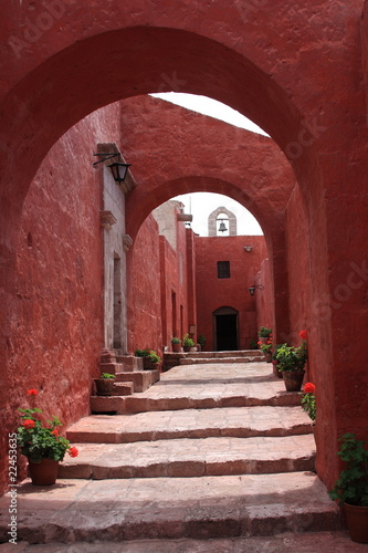 red street in Monastery