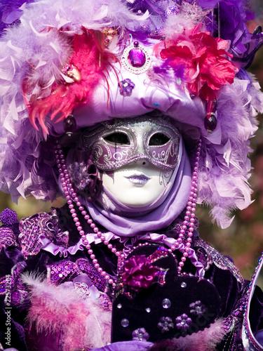 Fototapeta Venitian Carnival in Paris