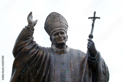 Fotografia Johannes Paul II.