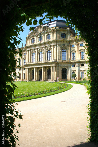 Fotografía Die fürstbischöfliche Residenz zu Würzburg