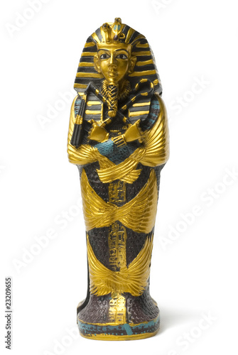 Obraz na płótnie Golden statute
