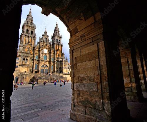 Tableau sur Toile Santiago de Compostela