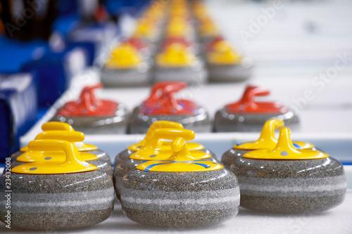 Photographie Curling stones