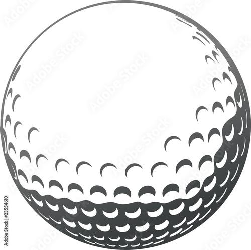 Fotografie, Tablou Golf ball