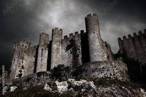 Fotografia, Obraz Dark Castle