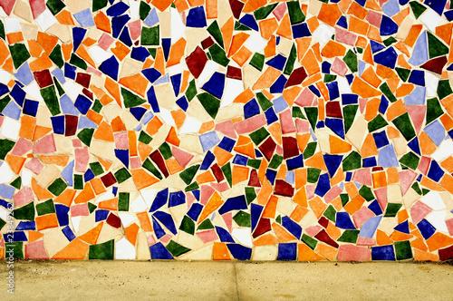 Tablou Canvas mosaic wall