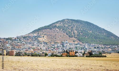 Vászonkép Biblical place of Israel: mount Tabor