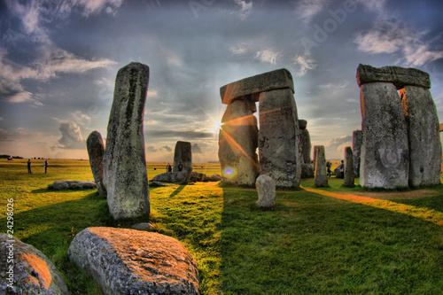 Fotografie, Obraz England - Stonehenge