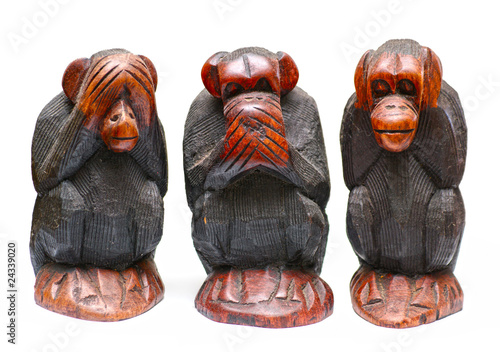 Photo 3 monkies
