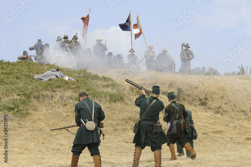 Civil War Fototapete