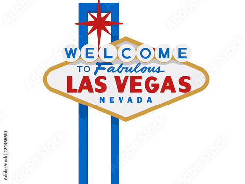 Wallpaper Mural The Famous Las Vegas Sign