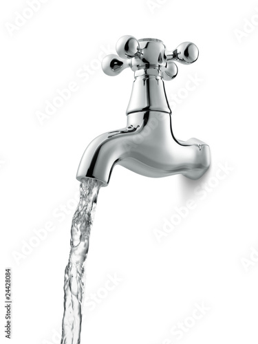 Canvas Print water faucet