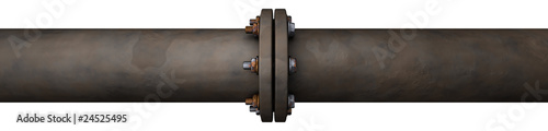 Fotografie, Obraz Old Pipeline