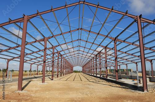 Obraz na płótnie Hangar du Nord