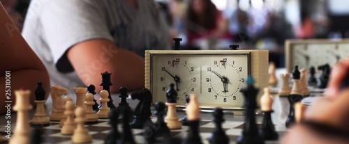 Fotografia Old chess clock
