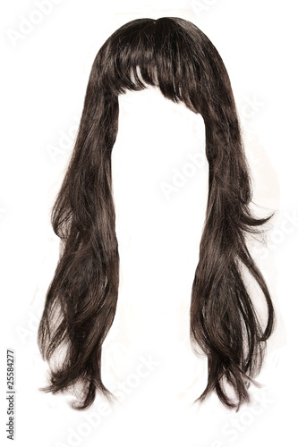 Obraz na płótnie black  hair