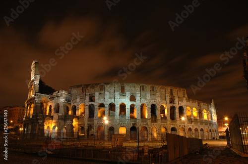 colisé romain de nuit Fototapeta