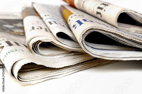 Canvas Print Zeitungen