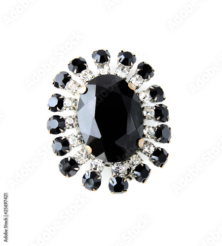 Foto Vintage brooch isolated