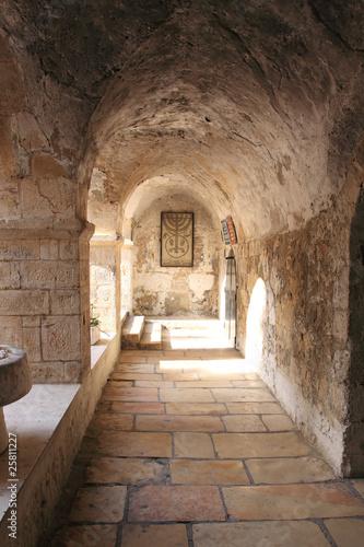 Fototapeta premium Starożytna aleja w dzielnicy żydowskiej, Jerozolima, Izrael