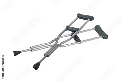 Metal Crutches Fototapeta