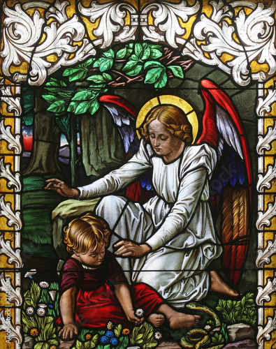 Angel guardian Fototapeta