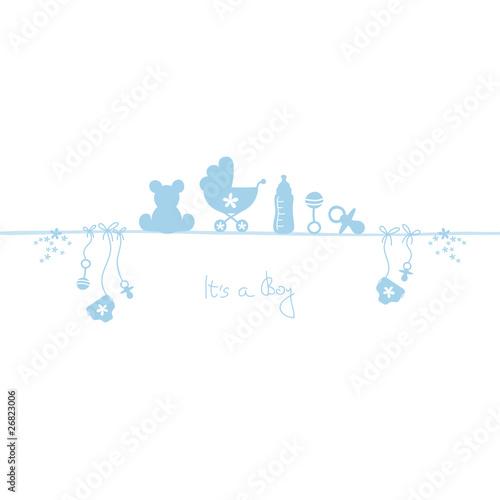 Card Baby Boy #26823006