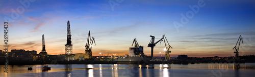 Fotografia ZOna industrial (panorama)