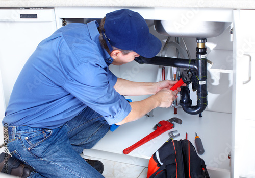 Slika na platnu plumber