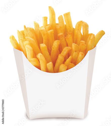 Obraz na płótnie french fried chips