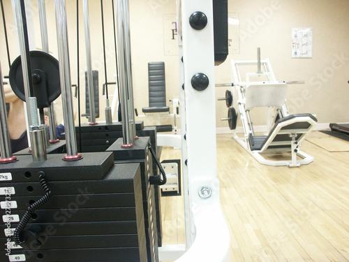 Fototapeta premium urządzenie siłowni