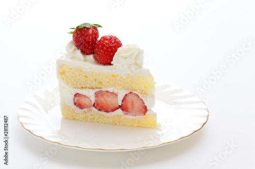 Vászonkép Strawberry shortcake