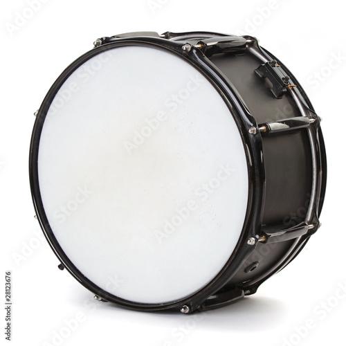 drum isolated on white background Fototapet