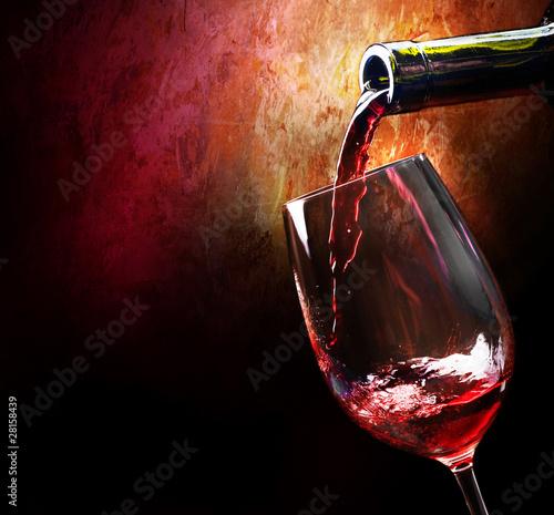 Fototapeta premium Wino