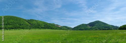 The hills Fototapet