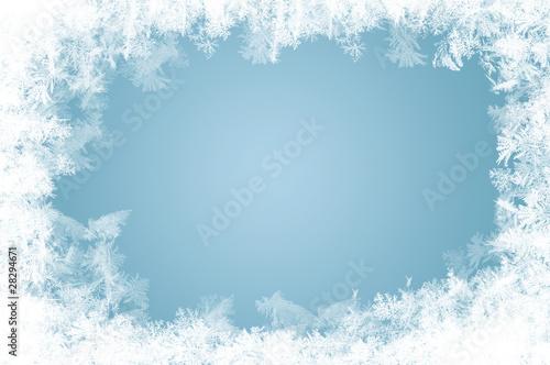 Fotografie, Obraz natürlich gewachsene Eiskristalle