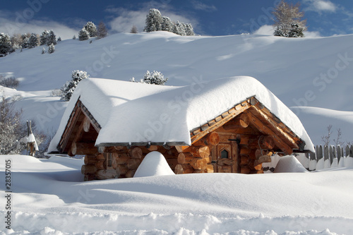 Schneebedeckt #28357015