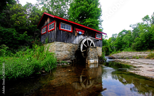 An old historial watermill