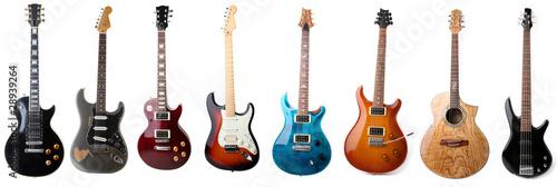 Stampa su Tela Guitars