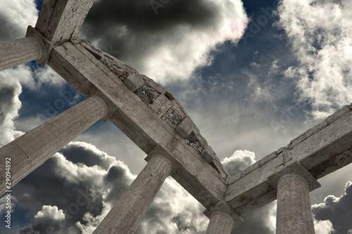 Canvas Il tempio di ercole Cori (LT)