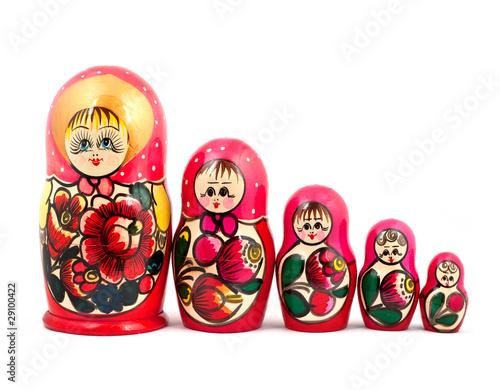 Murais de parede Russian Dolls